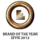 BRAND OF THE YEAREFFIE 2012