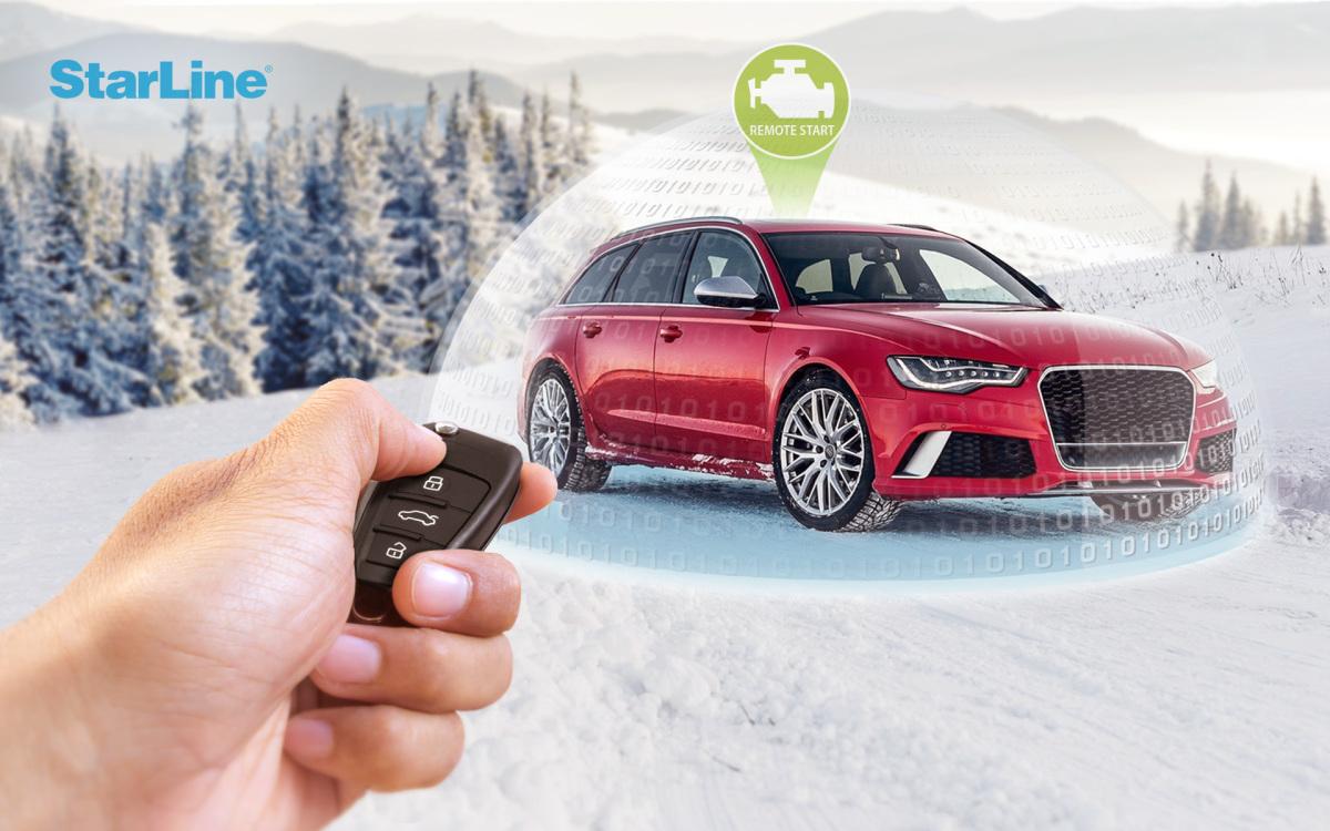 StarLine remote engine start with car original key